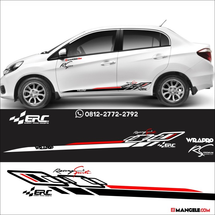 Jual Cutting Sticker ERC Stiker Mobil Striping mobilio ...