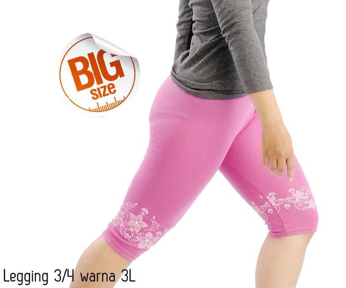 Jual Celana Legging Wanita 3 4 Celana Grosir Kota Blitar Safaraz Tees Tokopedia