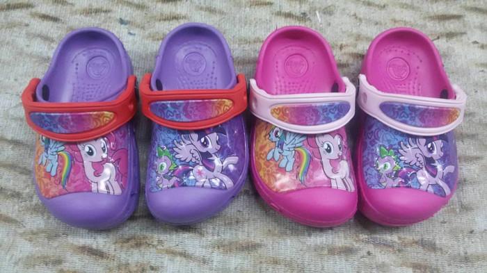 harga Sandal anak / sendal anak cewek / sandal crocs little pony kids Tokopedia.com