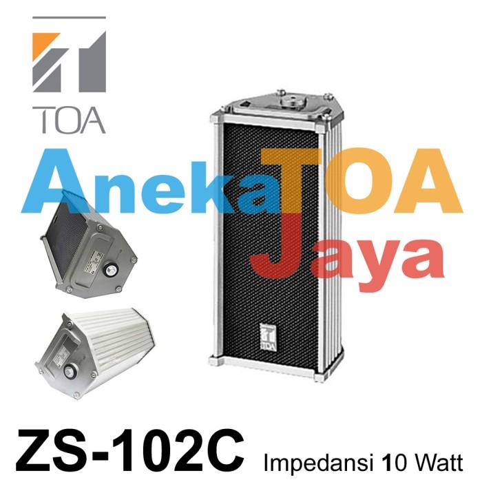 harga Toa zs-102c column speaker 100% original 102 c 10 watt ( 10w/10 w ) Tokopedia.com