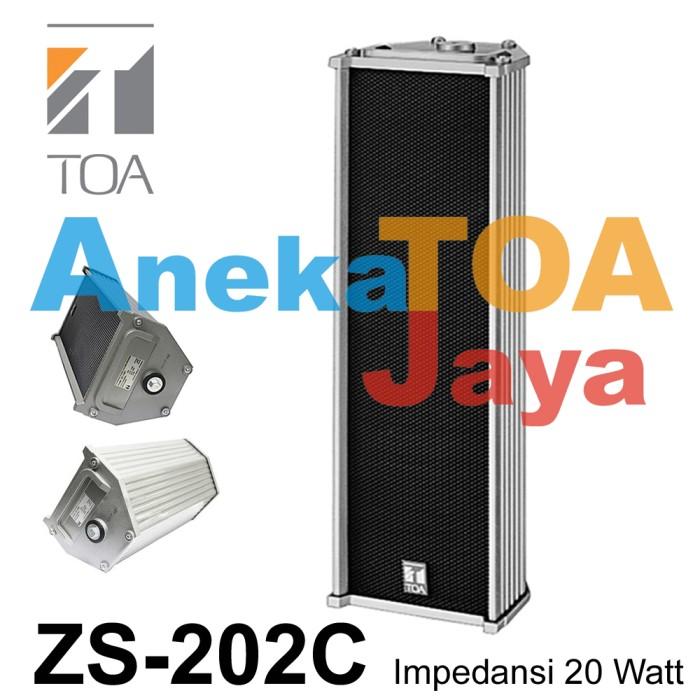 harga Toa zs-202c column speaker 100% original 202 c 20 watt ( 20w/20 w ) Tokopedia.com