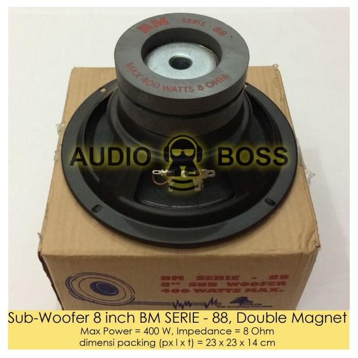 harga Speaker subwoofer 8 inch bm serie - 88 double magnet / 8  bm serie Tokopedia.com