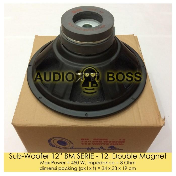 harga Speaker subwoofer 12 inch bm serie - 12 double magnet / 12  bm serie Tokopedia.com