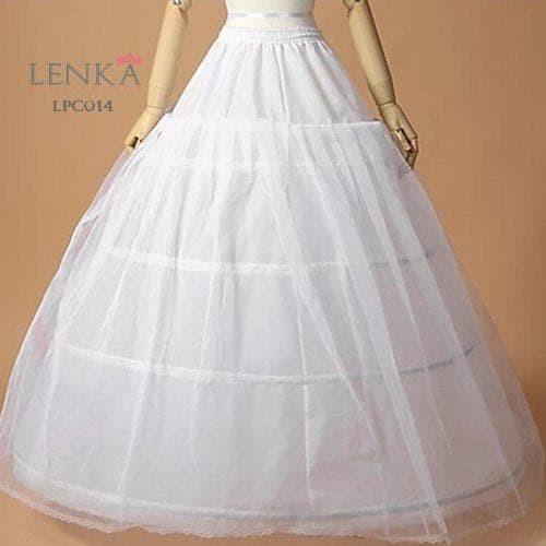 harga Petticoat rok tutu gaun pengantin (4 ring 1 layer) l lenka - lpc014 Tokopedia.com