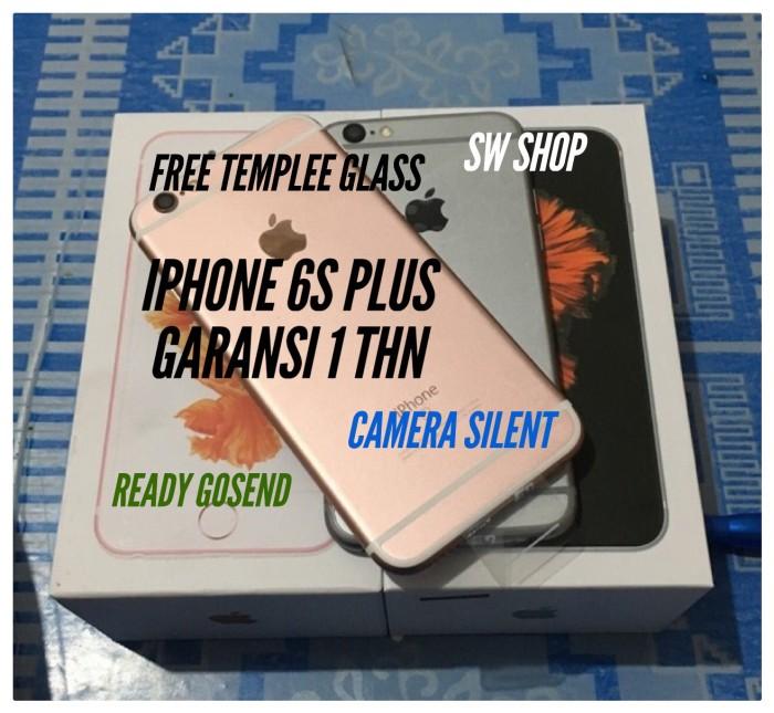 iphone 6s plus 64gb garansi 1 thn jaminan original