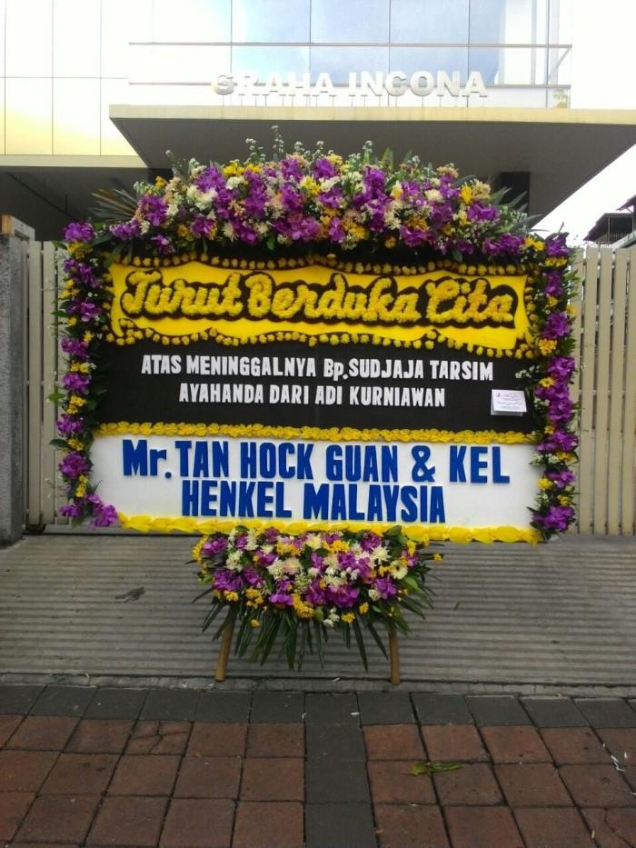 Jual Karangan Bunga Turut Berduka Cita Model 1 Kota Tangerang Goza Shop Tokopedia