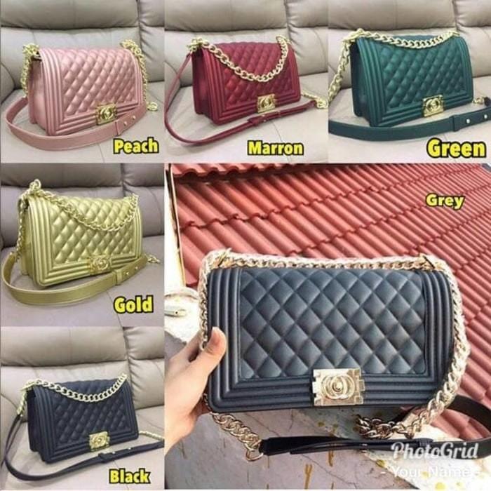 52b4fc9aca9f37 Jual Tas Wanita Import Chanel LeBoy Jelly Matte - DKI Jakarta ...