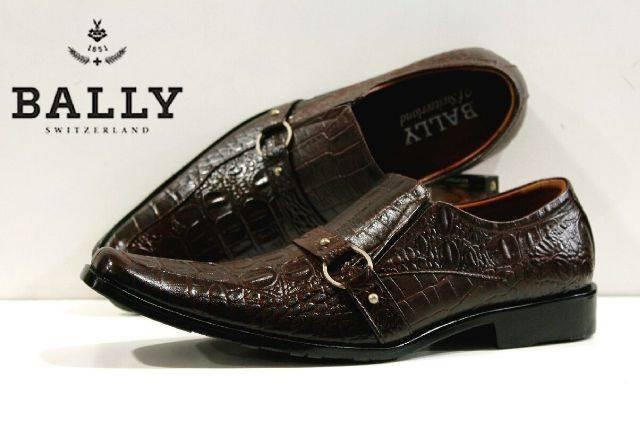 harga Sepatu bally formal pantofel kulit asli coklat Tokopedia.com
