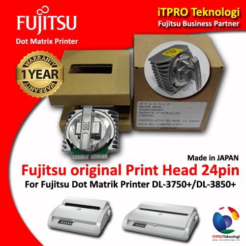 harga Fujitsu dot matrix printer print head for dl3750+ / dl-3850+ original Tokopedia.com