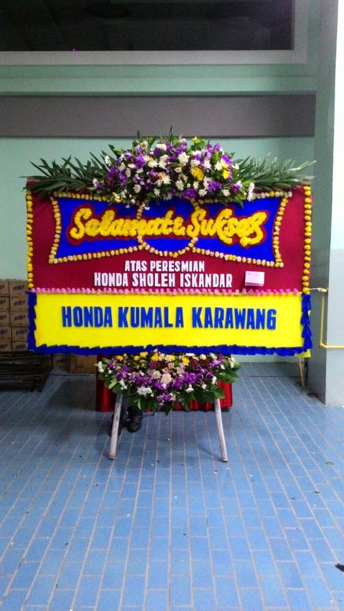 Jual KARANGAN BUNGA PAPAN UCAPAN SELAMAT MODEL 2 Kota Tangerang Toko G Corp
