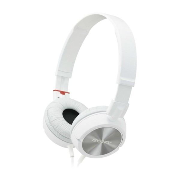 sony mdr-zx310ap overbands headset - white