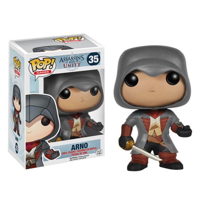 Jual Diskon Original Funko Pop Assassins Creed Unity Arno 35 Kota Malang Devika Mart Tokopedia