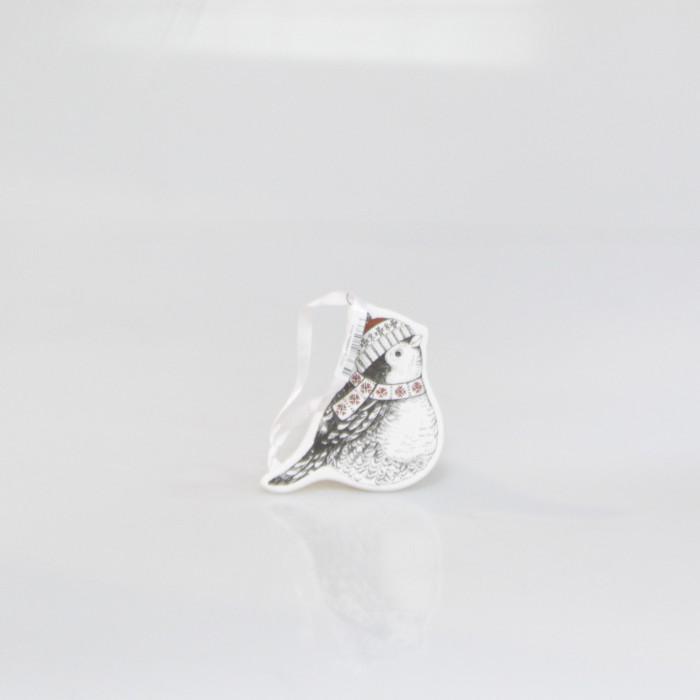 Jual Vivere Decoration Cmas Bird White Black  Harga Promo Terbaru