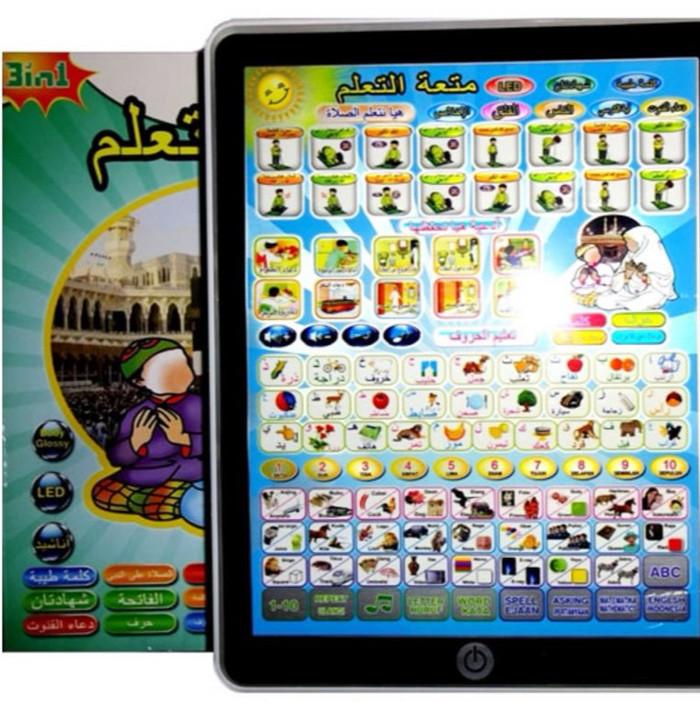 harga Mainan playpad muslim 3 bahasa Tokopedia.com