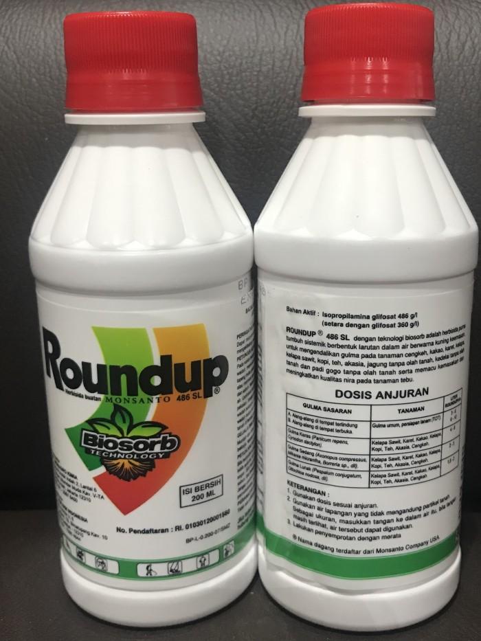 Herbisida Roundup / Round Up 486 SL 200 ml