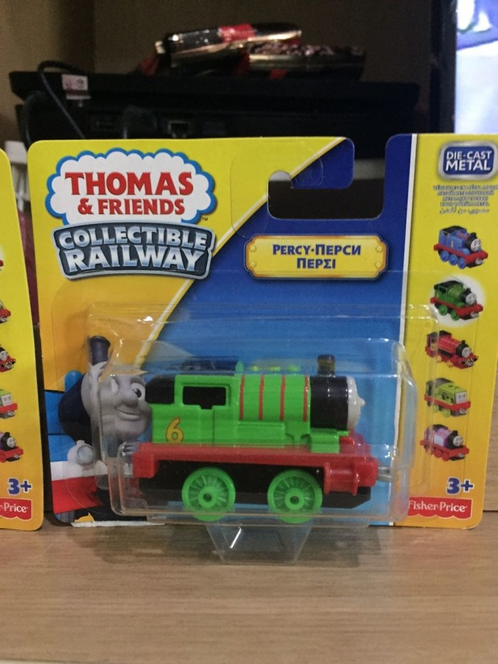 harga Thomas and friends diecast fisher price - percy Tokopedia.com