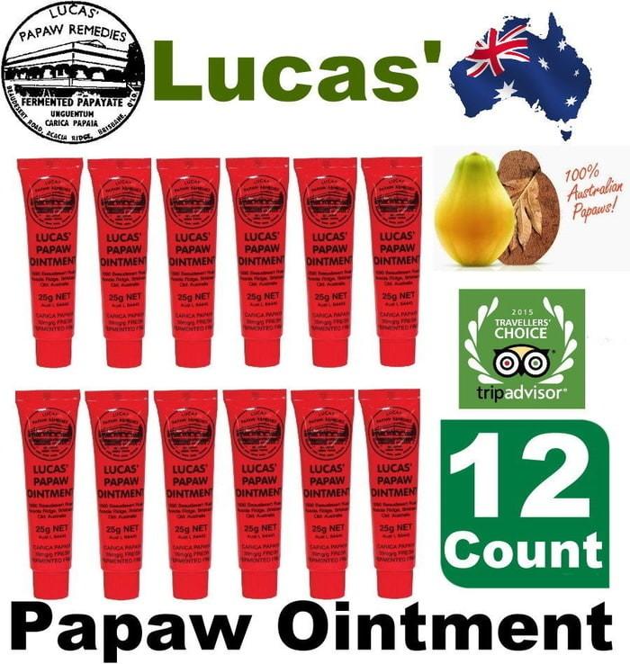 harga Original lucas papaw ointment cream 25gr salep kulit ibu dan anak Tokopedia.com