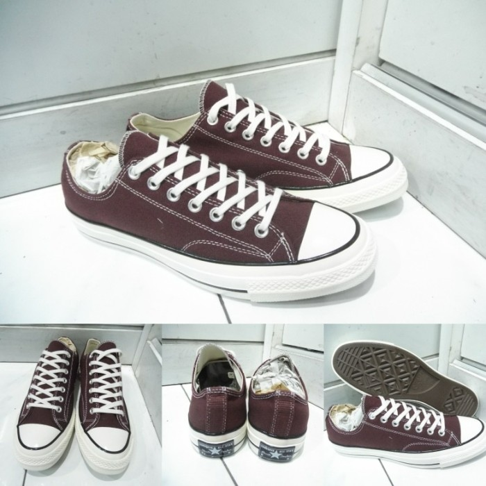 Jual Sepatu Converse All Star Chuck Taylor 70s Seventies Low Canvas ... 6c00f26647