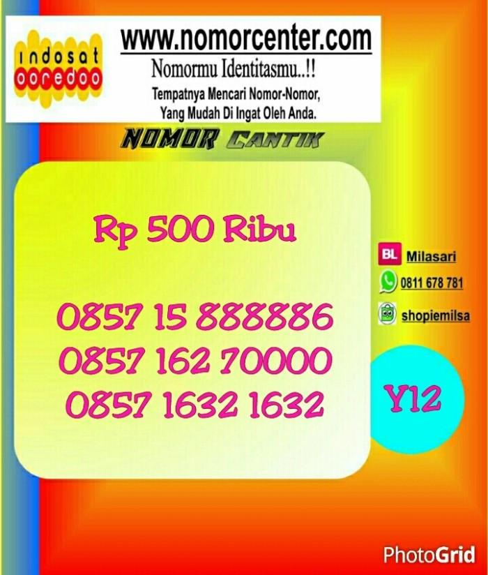 Nomer Cantik Indosat Im3 Seri Panca 88888 6_0857 15 888886 #NY12 969