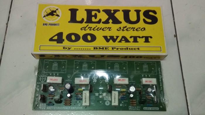 harga Kit driver amplifier stereo 400 watt by lexus sniper Tokopedia.com