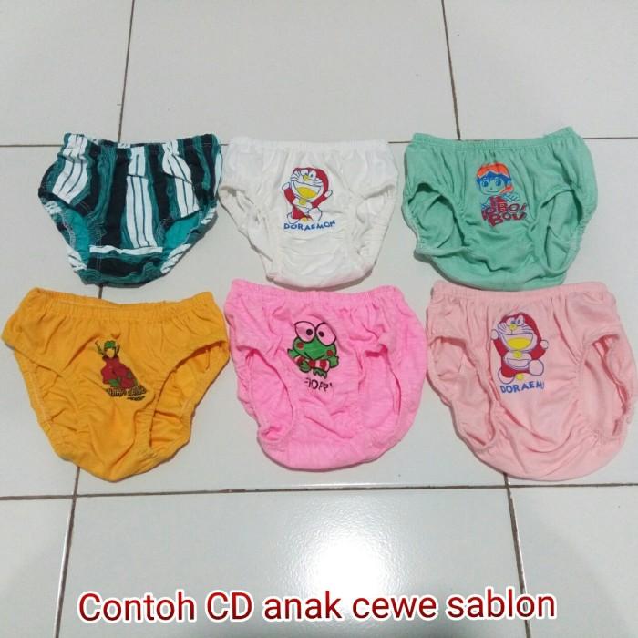 Jual Murah Puol!! Celana Dalam Anak Polos Sablon CD anak - Toko ... b726c91cd6