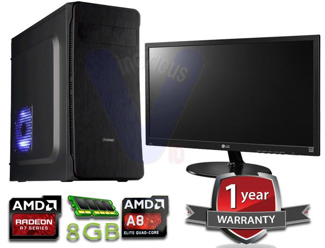 harga Paket cpu gaming amd kaveri a8 7650k 4gb 500gb led lg 19 inch Tokopedia.com
