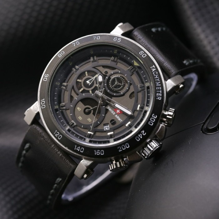 Body Black - Black/White . Source · Jam Tangan Pria Swiss .