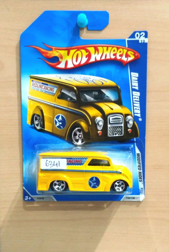 harga Hot wheels dairy delivery yellow modified rides 2009 #158/190 - r1 Tokopedia.com