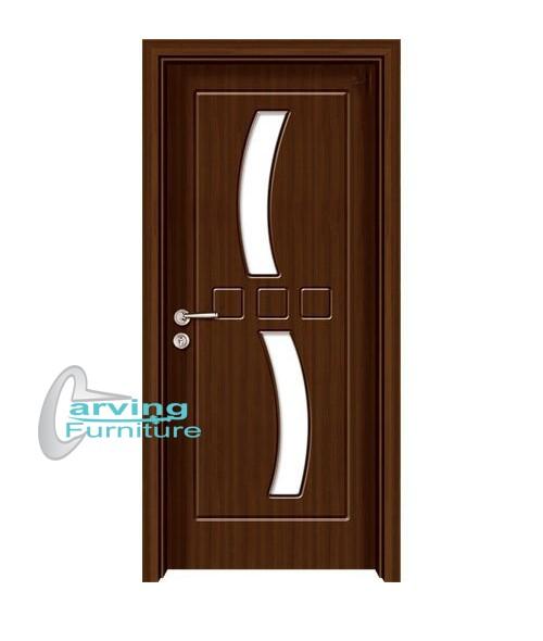 Jual Pintu Jati Minimalis. Pintu Rumah Jati. Pintu Kaca Jati 1 - Kab.  Jepara - Curving Furniture | Tokopedia