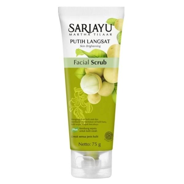 Foto Produk SARIAYU Putih Langsat  Facial Scrub dari ELOK AYU-NE