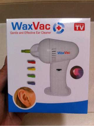 laris WAX VAC Electric Ear Wax Vacuum Removal / Pembersih Telinga