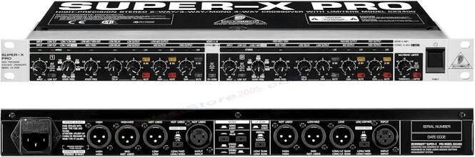 Info Crossover Behringer Cx 3400 Hargano.com