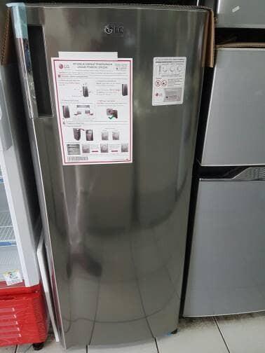 harga Lg gn-inv304sl freezer asi gninv304sl 6 rak inverter 170l gn-304sl Tokopedia.com