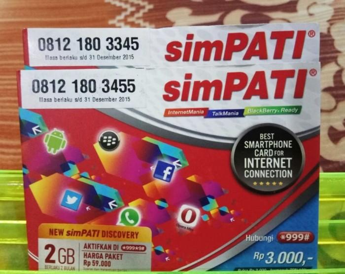 Nomor Cantik Simpati 11 Digit Super/Hoki/Murah/Kartu Perdana/Telkomsel