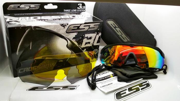 harga Kacamata sporty ess crossbow 3 lensa fullset bisa ganti minus Tokopedia.com