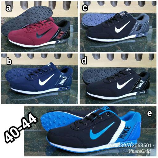 Jual Sepatu Olahraga Pria Nike Runner Impor Vietnam  e9f21ab316