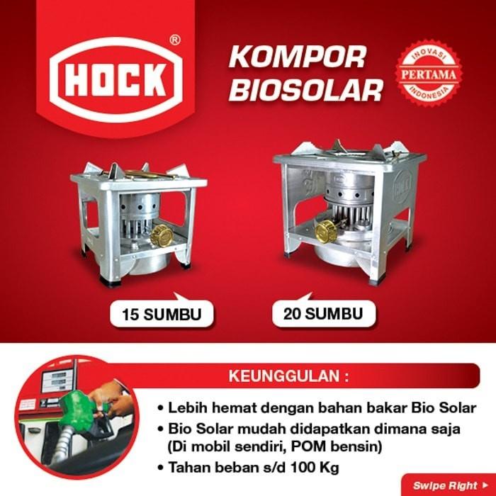 Jual Hock Kompor Minyak Bio Solar 15 Sumbu Bio Diesel Kompor Sumbu