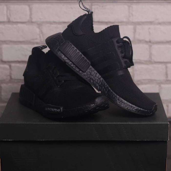 detailed look 21b8e 93d0d Jual Adidas nmd R1 PK TRIPLE BLACK Japan - Kota Surabaya - hsneakers |  Tokopedia