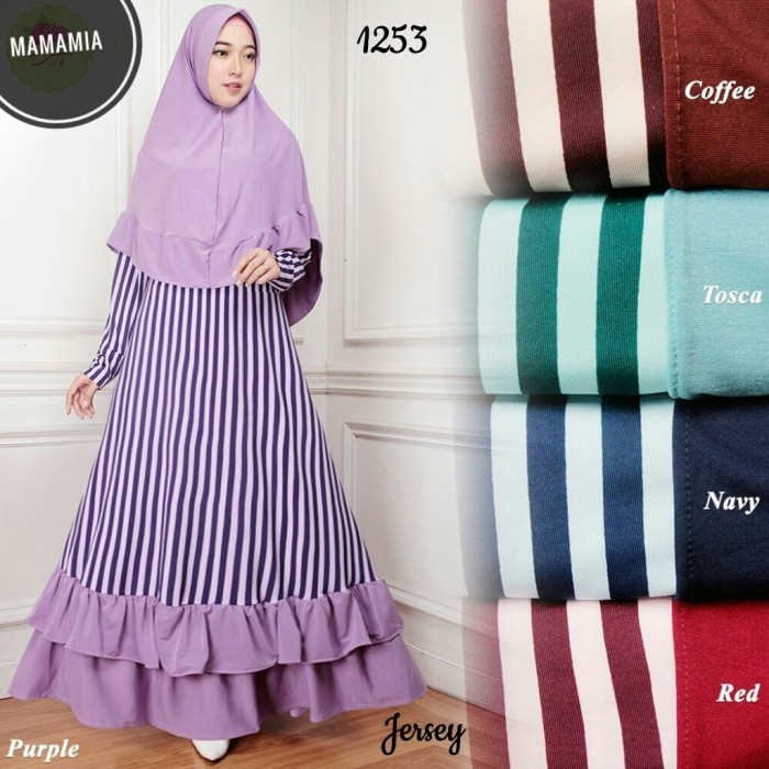 mamamia collection - long dress selfie. Source · Gamis Salur rempel