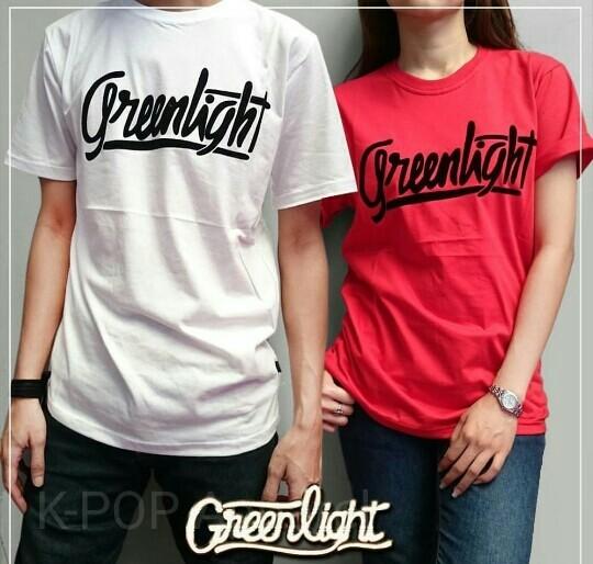 Kaos/Baju/T-Shirt COUPLE GREENLIGHT