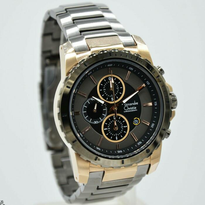 harga Jam tangan pria original alexandre christie ac-6141 Tokopedia.com