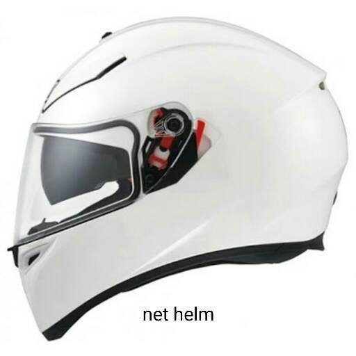 Jual Helm Agv K3 Sv Solid White Doble Visor Kab Demak Net Helm Tokopedia
