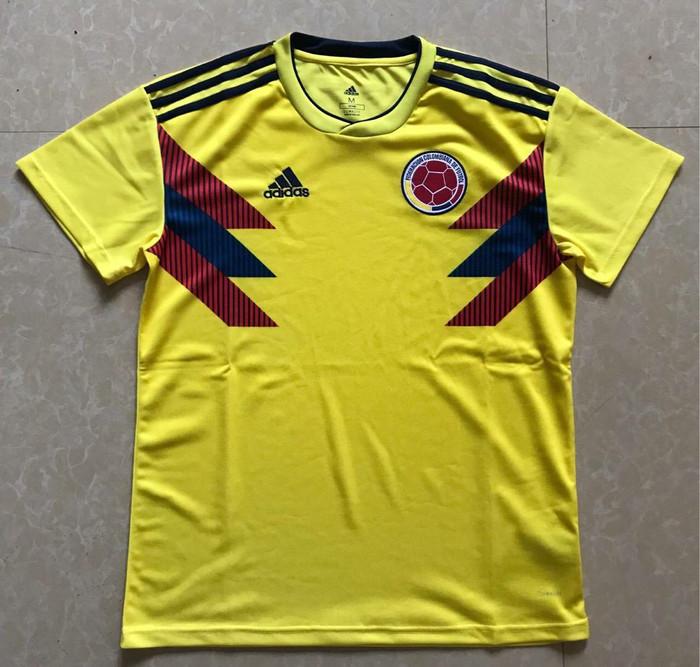 ccab66a54 Jual Jersey Baju Kaos Colombia Home World Cup 2018 Grade Ori - HS ...
