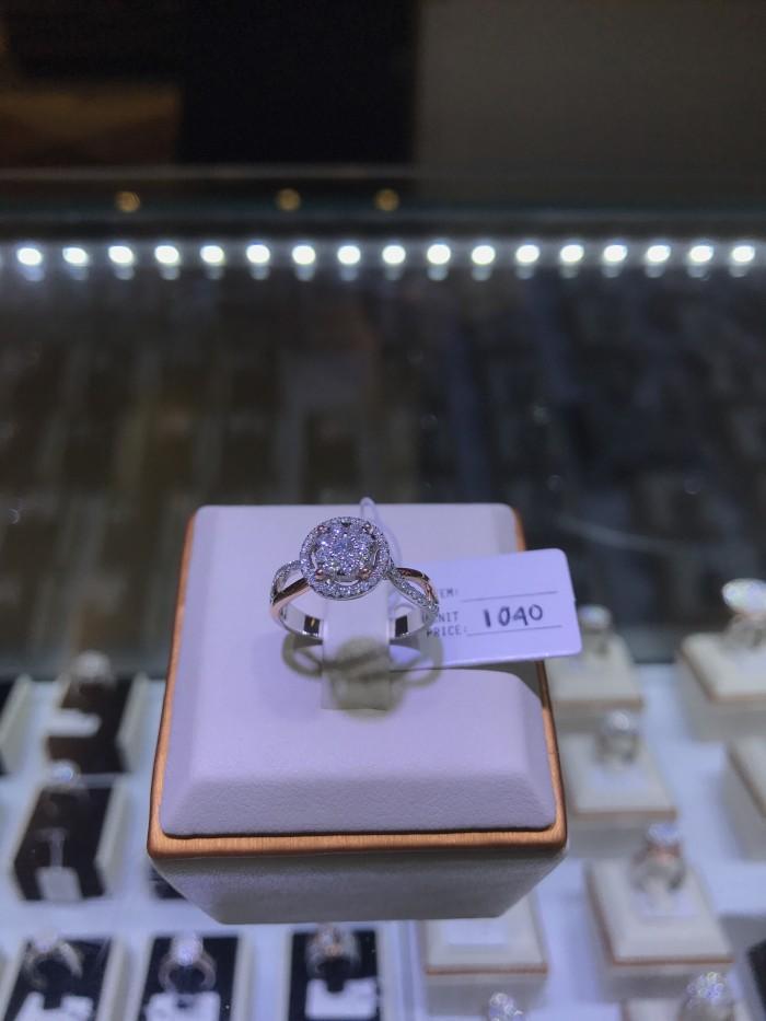 harga Cincin berlian eropa cartier full diamond emas putih rose gold grosir Tokopedia.com