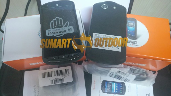 harga Bnob ori kyocera duraforce, ip68 4g, rival sonim xp6, xp7, cat s50 Tokopedia.com