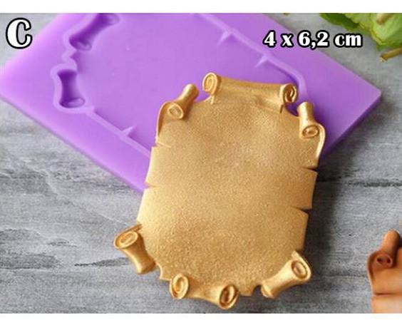 Jual Cetakan Resin Pigura Frame Silicone Mold Clay Bahan Craft