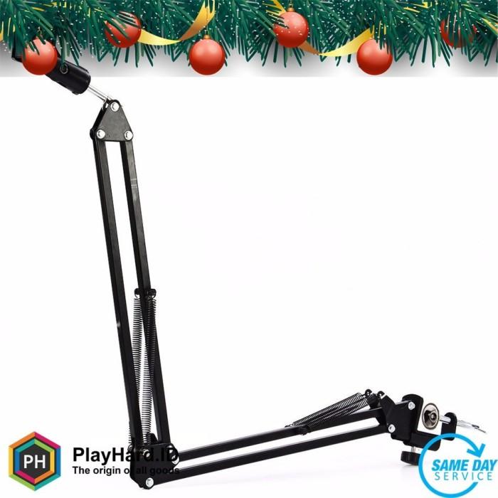 harga Arm stand suspensi lazypod mikrofon - black Tokopedia.com
