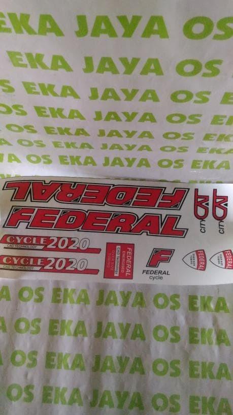 Info Stiker Sepeda Federal Travelbon.com