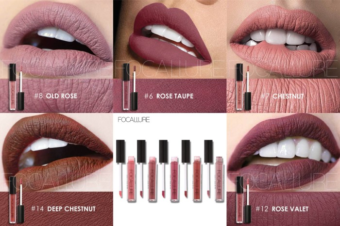 Focallure Liquid Lipstick Matte 100% original