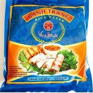 harga Rice paper roll vietnam banh trang / kulit lumpia vietnam - 400 gram Tokopedia.com